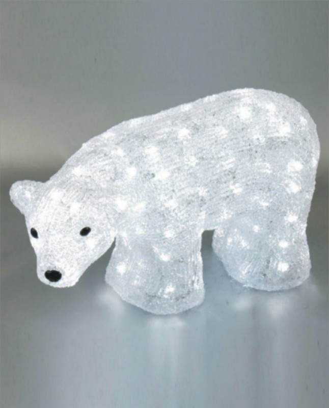 FY-001-C05 christmas acrylic POLAR BEAR light bulb lamp FY-001-C05 cheap christmas acrylic POLAR BEAR light bulb lamp - Acrylic lights  manufactured in China