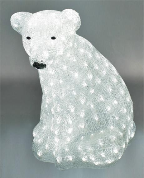 FY-001-C08 christmas acrylic SITING POLAR BEAR light bulb lamp FY-001-C08 cheap christmas acrylic SITING POLAR BEAR light bulb lamp - Acrylic lights  made in china