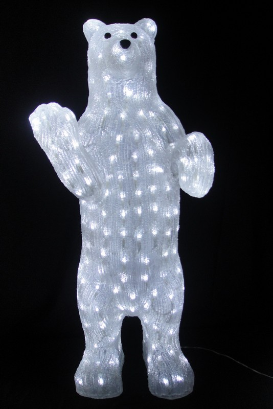 FY-001-C15 christmas STANDING acrylic BEAR WITH LED light bulb lamp FY-001-C15 cheap christmas STANDING acrylic BEAR WITH LED light bulb lamp - Acrylic lights  China manufacturer