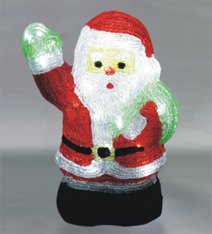 FY-001-E02 christmas acrylic SANTA CLAUS light bulb lamp FY-001-E02 cheap christmas acrylic SANTA CLAUS light bulb lamp - Acrylic lights  made in china