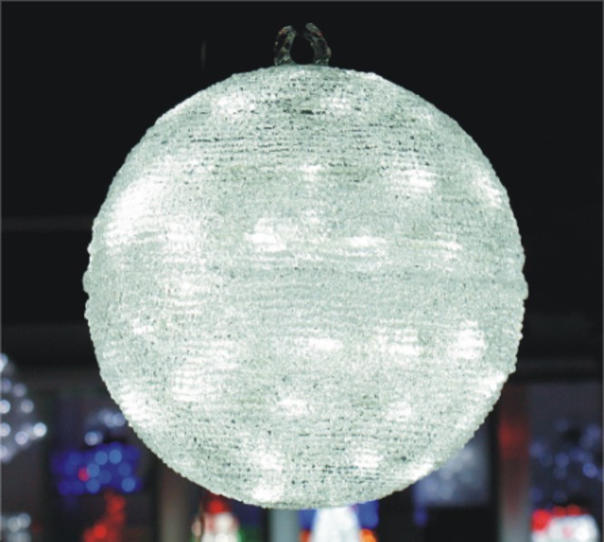 FY-001-I08 christmas acrylic BALL light bulb lamp FY-001-I08 cheap christmas acrylic BALL light bulb lamp - Acrylic lights  manufactured in China