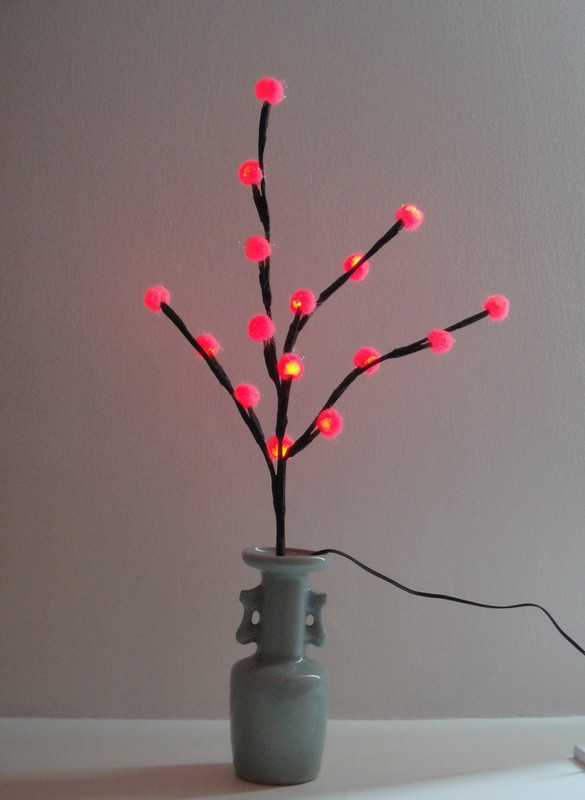 FY-003-F02 Cherry branch LED christmas branch tree small led lights bulb lamp FY-003-F02 Cherry branch LED cheap christmas branch tree small led lights bulb lamp