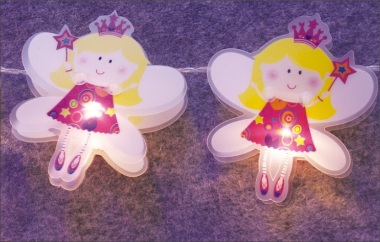 FY-009-C65 LED LIGHT WITH PVC ANGEL FY-009-C65 LED LIGHT WITH PVC ANGEL - LED String Light with Outfit made in china