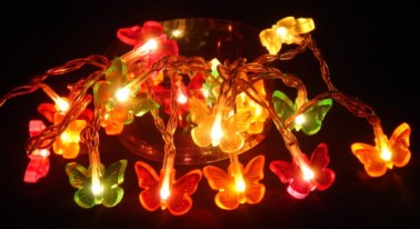 FY-03A-005 Butterflies LED christmas small led lights bulb lamp FY-03A-005 Butterflies LED cheap christmas small led lights bulb lamp - LED String Light with Outfit China manufacturer