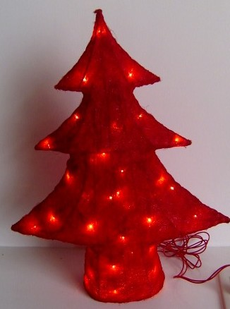 FY-06-006 christmas red tree rattan light bulb lamp FY-06-006 cheap christmas red tree rattan light bulb lamp - Rattan light manufactured in China