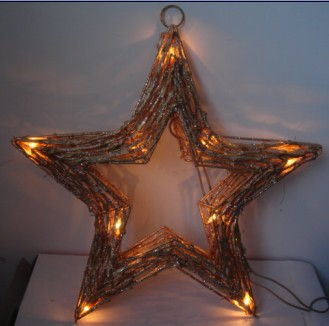 FY-06-009 christmas star rattan light bulb lamp FY-06-009 cheap christmas star rattan light bulb lamp - Rattan light China manufacturer