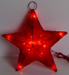 FY-06-016 christmas red star rattan light bulb lamp FY-06-016 cheap christmas red star rattan light bulb lamp - Rattan light made in china