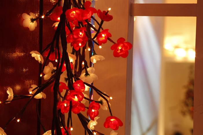 FY-50023 LED Christmas Branch Tree Small Led Lights Bulb Lamp