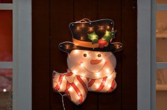 FY-60609 christmas snow man window light bulb lamp FY-60609 cheap christmas snow man window light bulb lamp - Window lights manufactured in China