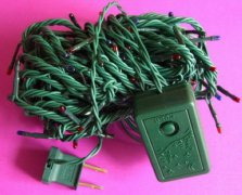 fy 1100 twinkling 100l rice b - Chaser Christmas Lights