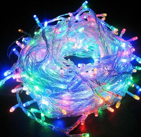 Multicolored 144 Superbright LED String Lights Multifunction Clear ...