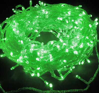 Green 144 Superbright LED String Lights Multifunction Clear Cable 24V Low Voltage