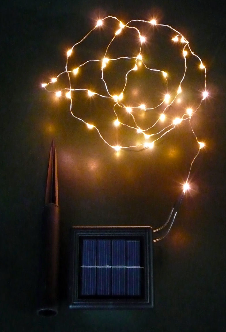 String Lights Solar : Solar Copper Wire Lights