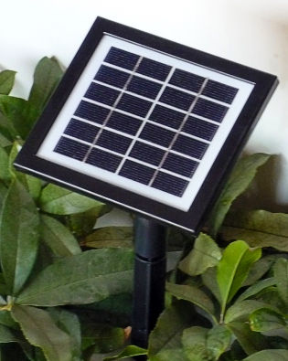 solar module for 1-560 LED Solar Christmas lights