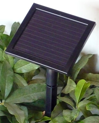 solar module for 1-200 LED Solar Christmas lights