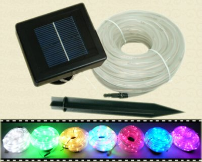 FY-100L-RSP Series Solar LED  christmas light tube | Solar LED Tube Lights on sales - Solar Christmas Lights China manufacturer