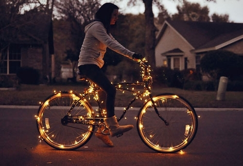 Solar Copper Wire Lights For Bicycle